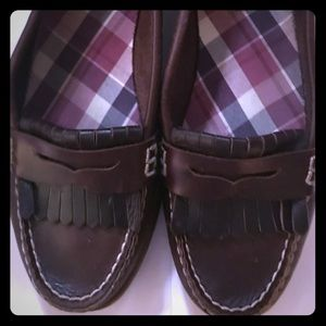 Sperry Topsider penny loafer shoes SZ 9M